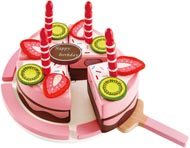 Leksaksmat Tårta med ljus