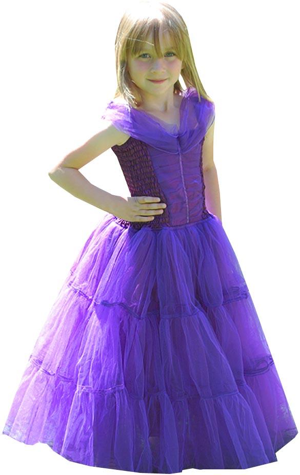 Minisa Utklädning Balklänning lila