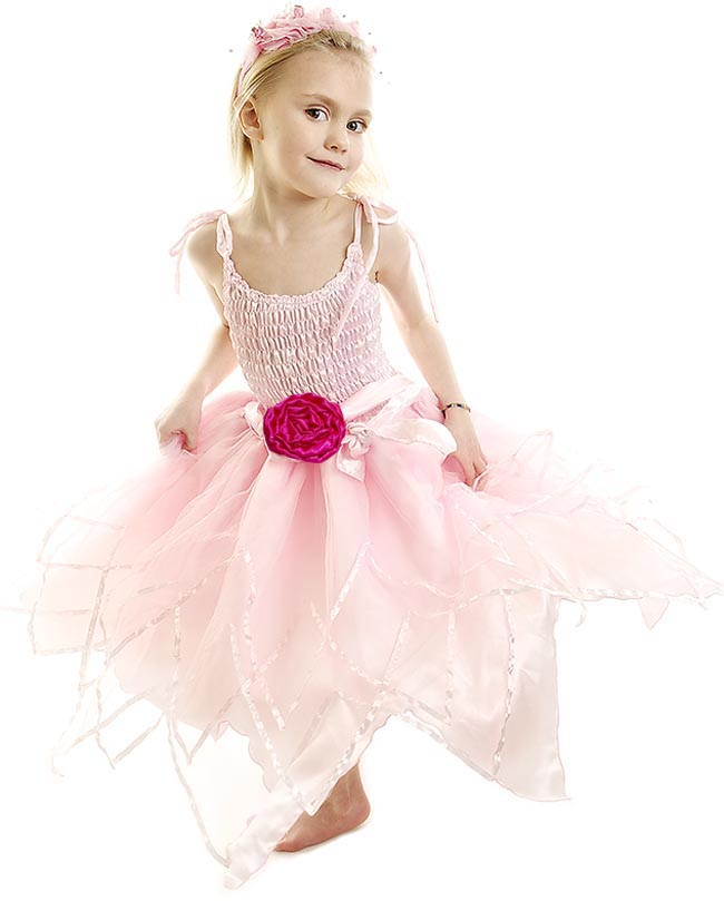 Minisa Utklädning Star Ballerina rosa/cerise