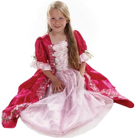 Minisa Utklädning Prinsessa Clara cerise