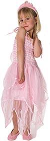 Utklädning Klänning Star day pink