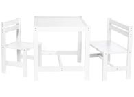 Barnmöbelgrupp Timo bord, stol, soffa