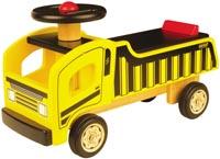 Pintoy Åklastbil - Träbil att sitta på