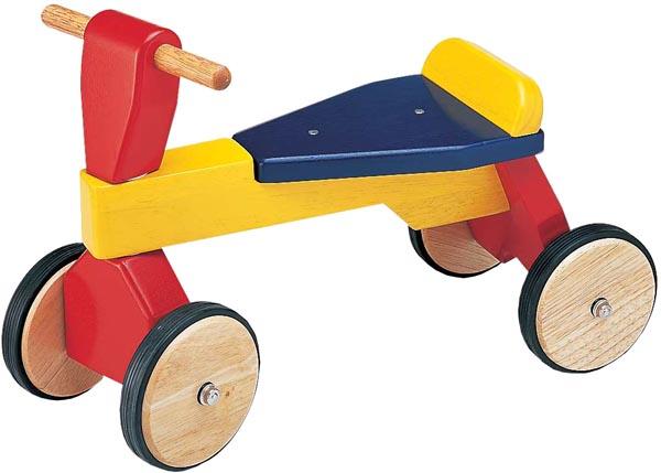 Pintoy Åkleksak Trike röd/blå/gul