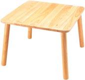 Barnbord lack 60 x 60 cm