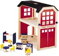 Brandstation & möbler