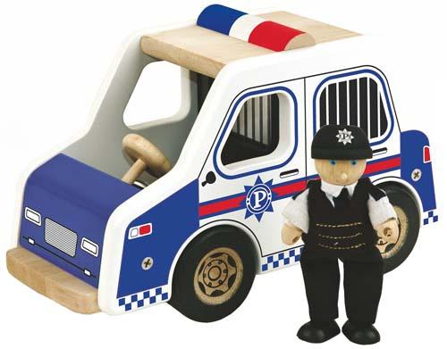 Pintoy Polisbil med polis