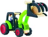 Pintoy Traktor med lastare trä