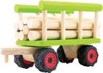 Pintoy Vagn med stockar trä