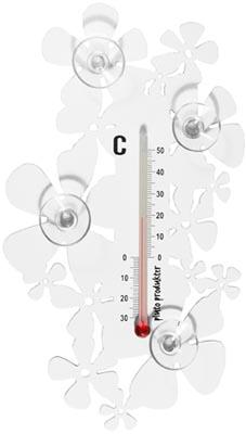 Termometer Blomma