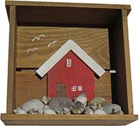 Tavla låda med Fiskebod