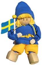 Butticki Sverigepojke sittande 2:a sortering