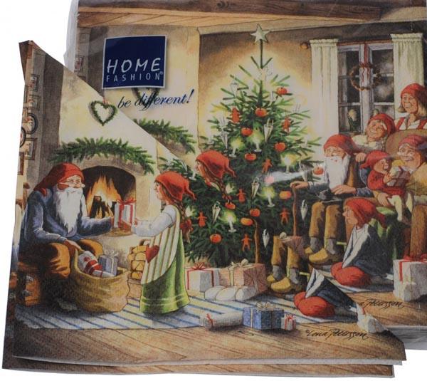 Servetter Julaftons kväll