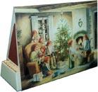Tändsticksask Julaftons kväll