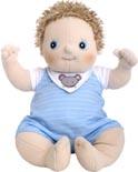 Docka Rubens barn Baby Erik New