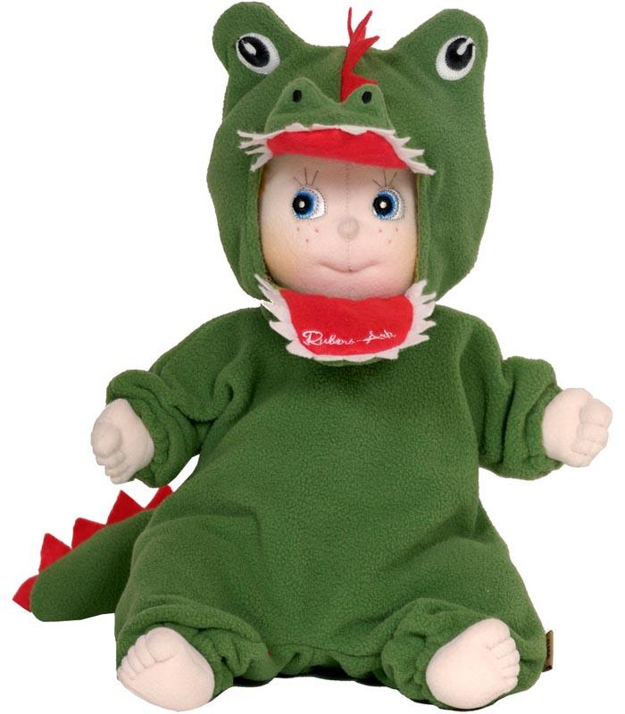 Docka Rubens Ark Krokodil