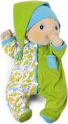 Rubens barn kläder Baby Grön pyjamas