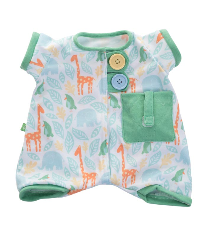 Rubens Barn kläder Baby Pyjamas grön