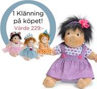 Docka Rubens barn Little Maria Party