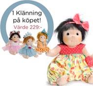 Docka Rubens barn Little Meja Party