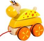 Dragdjur Häst gul