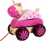 Santoys Dragdjur Häst rosa