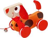 Scratch Dragleksak hund Oscar