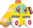 Scratch Träbil Taxi
