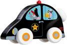 Scratch Träbil Polisbil