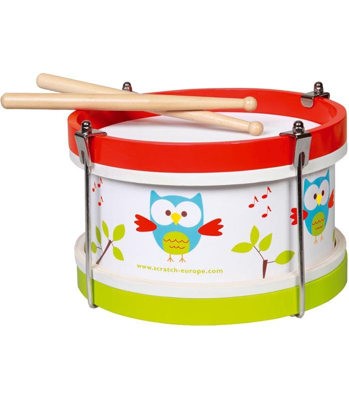 Scratch Musikinstrument Trumma Uggla