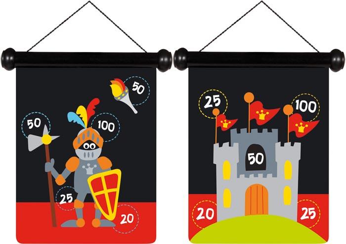 Scratch Spel Pilkastning magnetisk Riddare