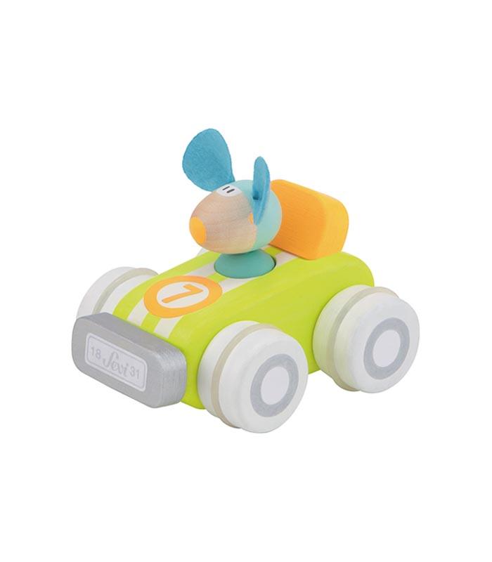 Sevi Racerbil Mus - Bygg ihop & ta isär