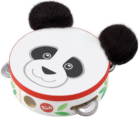 Sevi Musikinstrument Tamburin Panda Kevin