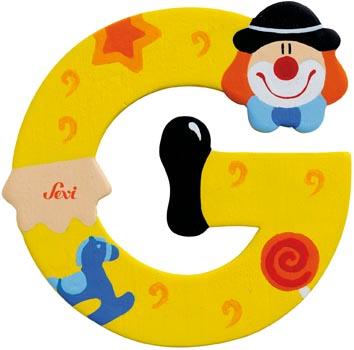Bokstav clown G