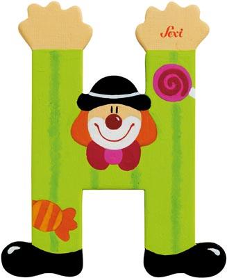 Bokstav clown H
