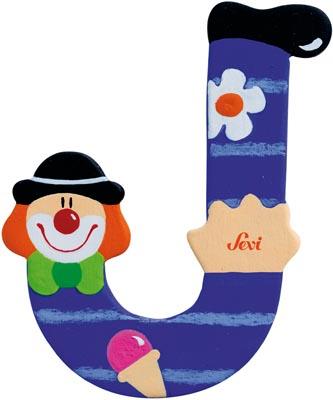 Bokstav clown J