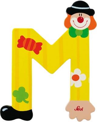 Bokstav clown M