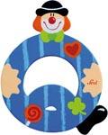 Sevi Bokstav clown Q