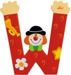 Sevi Bokstav clown W