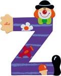 Sevi Bokstav clown Z