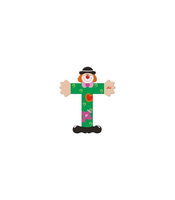 Sevi Bokstav clown T