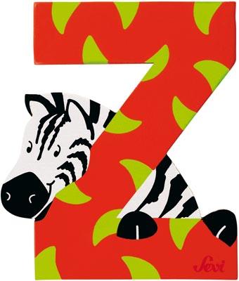 Sevi Bokstav djur Z