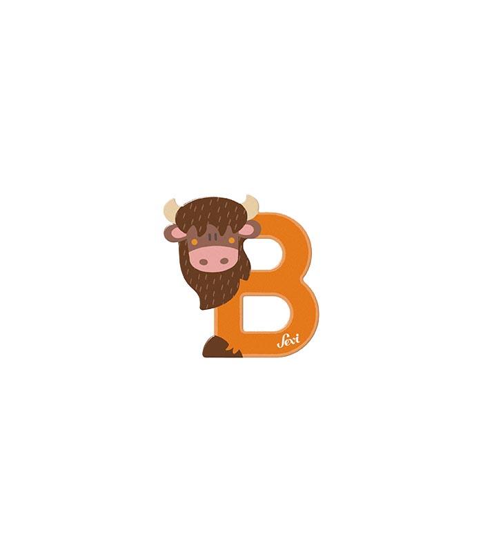 Sevi Bokstav djur pastell B
