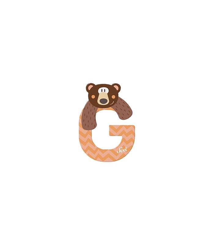 Sevi Bokstav djur pastell G