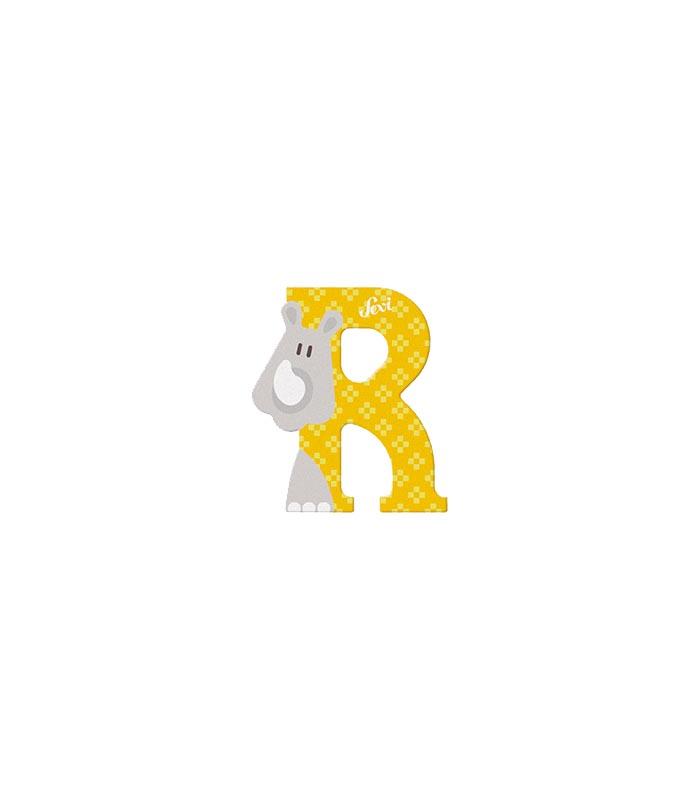 Sevi Bokstav djur pastell R