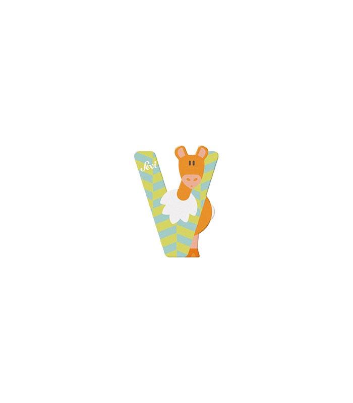 Sevi Bokstav djur pastell V