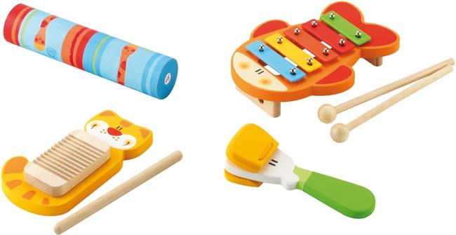 Sevi Musikinstrument Set rytm och ljud