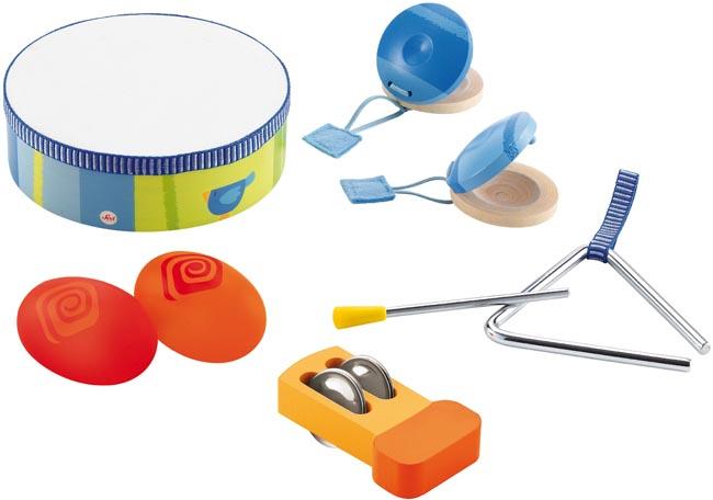 Musikinstrument 5 olika