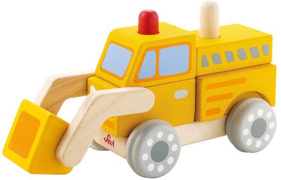 Sevi Bulldozer - Stapla ihop och ta isär