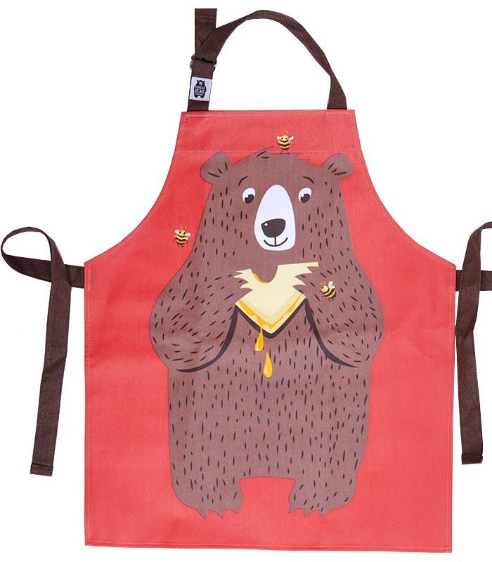 Thredbear Förkläde Barn Björnen Fred